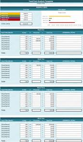 Spreadsheet For Cost Analysis Template U2013 Cost Analysis Tool Spreadsheet For Food