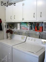 Laundry Room Storage Cabinets by Getting Organized The Laundry Room Tips And Tricks Tatertots