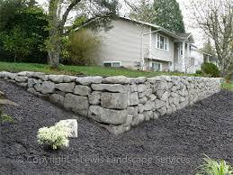 lewis landscape services rock walls portland oregon beaverton