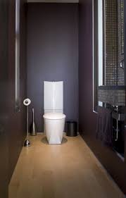 how to make a narrow powder room feel inviting and comfortable