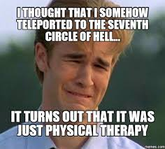 Physical Therapy Memes - dana s magic and mayhem ah physical therapy