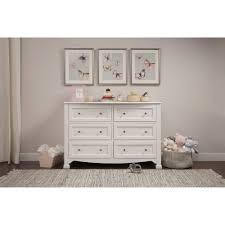 Davinci Kalani Mini Crib White by Davinci Kalani 6 Drawer Double Wide Dresser White Walmart Com