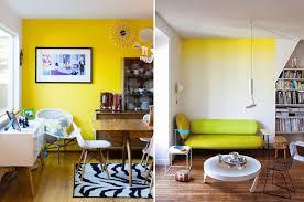 pareti sala da pranzo il living con la parete gialla salotto perfetto