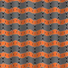 Orange And Blue Shower Curtain Dezignable Shop Unique High End Shower Curtains U0026 Bath Accessories