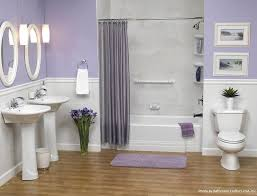 lavender painted walls light purple and grey bathroom bartarin site