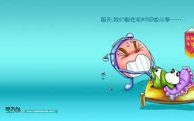 wallpaper for desktop of cartoons desktop cartoon wallpaper cobopanda cartoon character alarm top