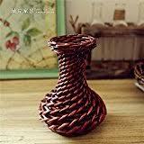 Rattan Vases Amazon Com Rattan U0026 Wicker Vases Home Décor Home U0026 Kitchen
