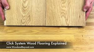 click system wood flooring explained