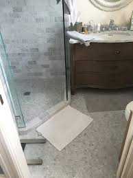 Marble Master Bathroom by Marble Master Bath U2014 Intelligent Tile