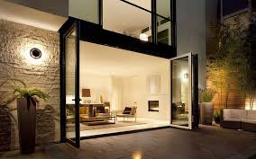 glass wall house inspiring best home ideas japanese style house using black brick