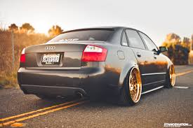 audi a4 modified gold status josh u0027s fitted audi a4 stancenation form