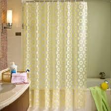 aliexpress com buy 1pc bathroom waterproof shower curtain eco