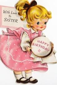 vintage birthday cards for sister google search vintage