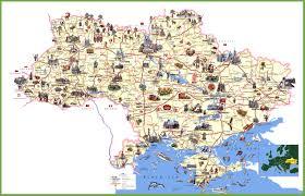 Kiev Map Ukraine Travel Map
