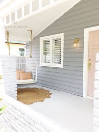 house colours white weatherboard shale grey roof ivory stack