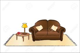 lamp clipart couch pencil and in color lamp clipart couch