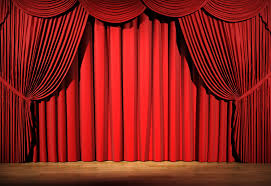 Stage With Curtains Drapes