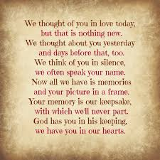 inspirational quotes in memory of a loved one