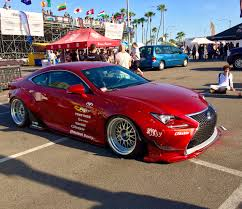 lexus rc rocket bunny rocketbunny lexus rc f sport at formula drift long beach