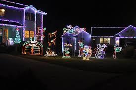charlie brown christmas lights spring lake man puts on high tech christmas light display