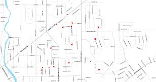 Cta Map Red Line Map Showing Ward 1 Construction City Of Guelph