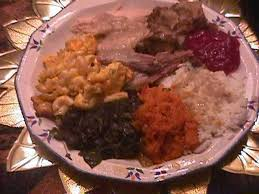 Soul Food Thanksgiving Dinner Menu Soul Food Foods