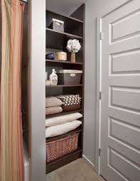 Bathroom Open Shelving Ideas Bathroom Closet Storage Shelving 7773 Pertaining