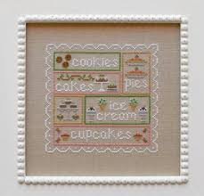 Country Cottage Cross Stitch Sweet Sampler Cross Stitch