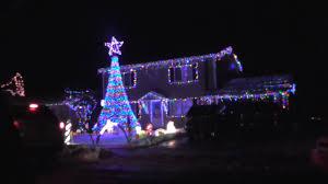 christmas light display to music near me christmas music light display house alpena michigan 2016 all i