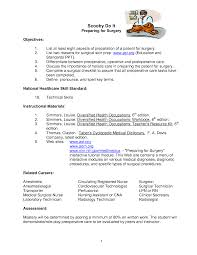 Cna Duties List Surgical Tech Resume Examples Resume For Your Job Application