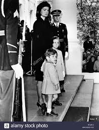 John F Kennedy Jr Jacqueline Kennedy With Her Children John F Kennedy Jr And