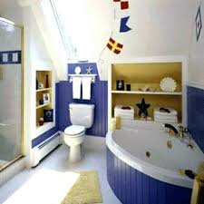 bathroom decor for kids with white wall ideas home nautical themed bathroom nautical bathroom ideas bathroom nautical