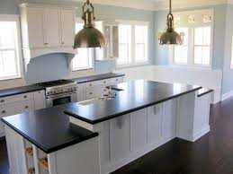 Black And White Kitchen Canisters Kitchen Antique White Cabinets With Black Appliances 2 97 Grey