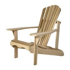 Red Cedar Outdoor Furniture by Shop All Things Cedar Tan Cedar Patio Adirondack Chair At Lowes Com