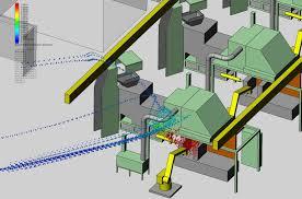 Laser Cutter Ventilation Whole Plant Ventilation System Design Robovent Ventmapping