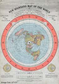 Correct World Map by The Ultimate Flat Earth Map Collection Aplanetruth Info
