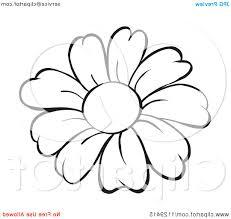 top daisy cartoon flower vector cdr free vector art images