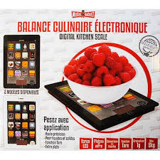 application balance de cuisine balance de cuisine electronique style tablette tac achat vente