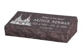 gravestone prices pillow top gravemarker hickey style gravemarker bevel