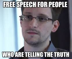 Snowden Meme - free speech for people edward snowden meme on memegen