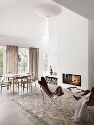 Simple Beautiful Dining Room Modern Scandanavian Best 25 Scandinavian Curtains Ideas On Pinterest Grey