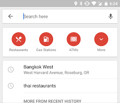 How To Clear Google Maps History Google Maps May Be Removing The Category Shortcuts From Search