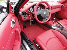 Porsche 911 Interior Color Codes Carrera Red Natural Leather Interior 2012 Porsche 911 Turbo
