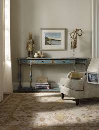 sanctuary 4 drawer console table hooker furniture living room sanctuary four drawer thin console 5405