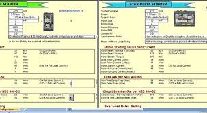 free tool to design motor control circuit dol starter and star