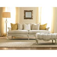 Beige Tufted Sofa by Mahlen French Country Beige Tufted Antique Ottoman Kathy Kuo Home