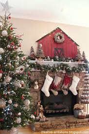 New Ways To Decorate Your Christmas Tree - 38 country ways to add christmas cheer to your mantel country