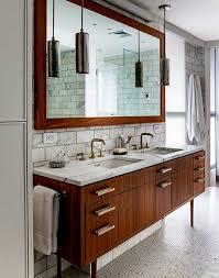 Mid Century Modern Bathroom Vanity Bathroom Best Mid Century Modern Bathroom Vanity Ideas With 2