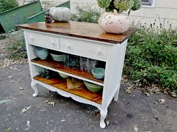 kitchen island instead of table heir and space antique dresser turned kitchen island