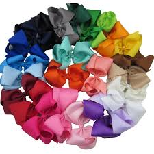boutique bows xima 5inch grosgrain ribbon boutique bows with clip for